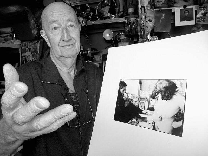 Frederick Linck met foto Nol Kroes