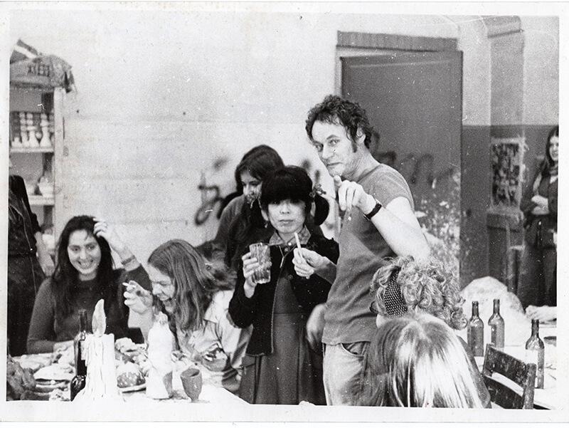 Jan Snoeck met groep, jaren '70