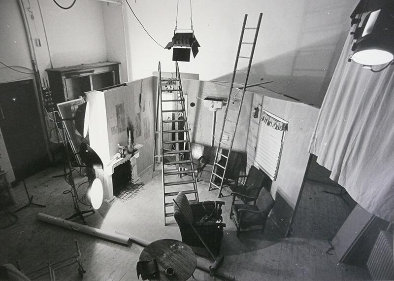 Witte Studio, De Gheijnstraat, eind jaren '60