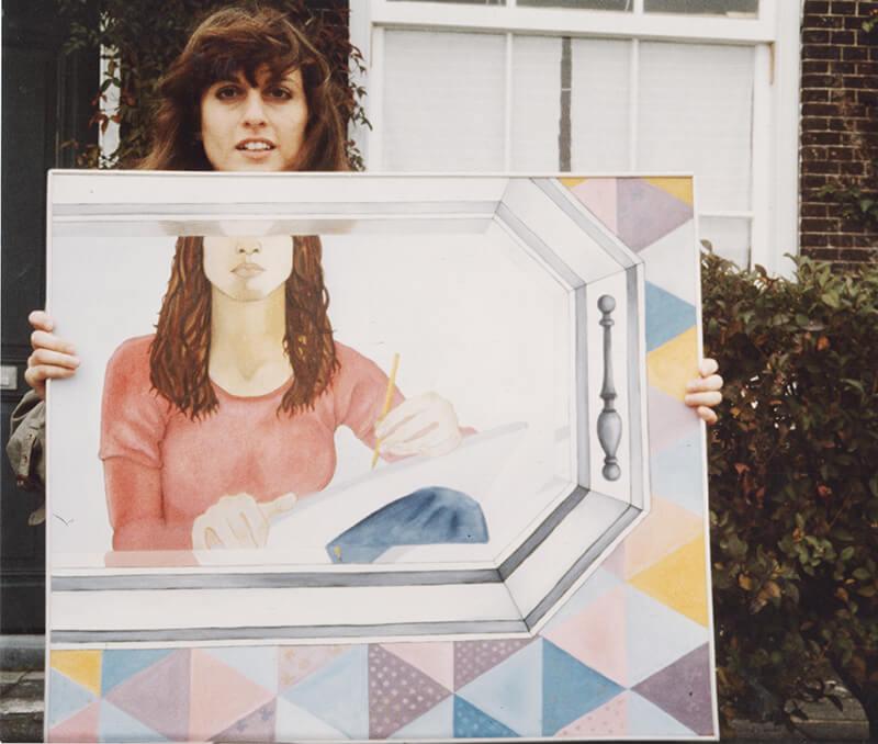 Conny Dénis, jaren '70 (foto Ido Menco)