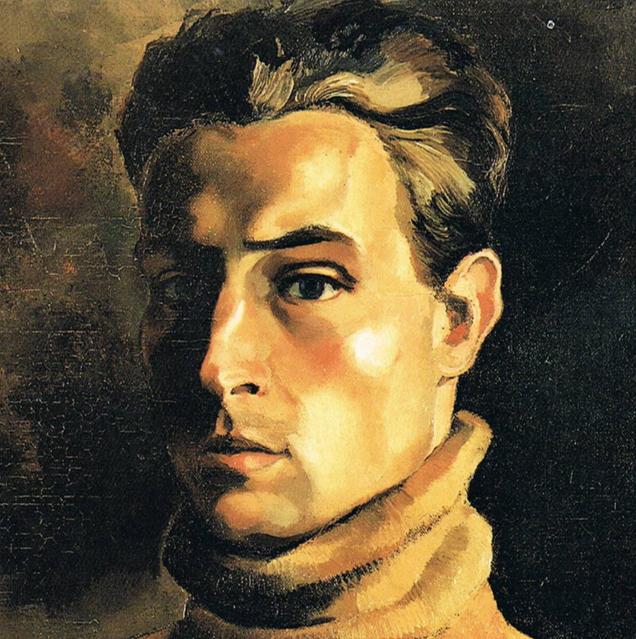 Zelfportret,1921 (Chris de Moor)