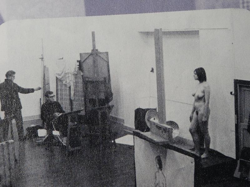 Ceciel Brand in het atelier