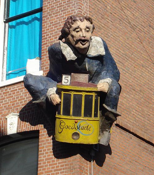 Witte de With in de Witte de Withstraat, Den Haag (Aris de Bakker, 1989)