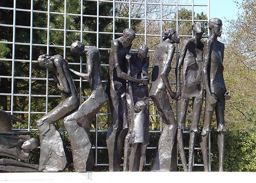 Indisch monument in Den Haag, detail (Jaroslawa Dankowa)