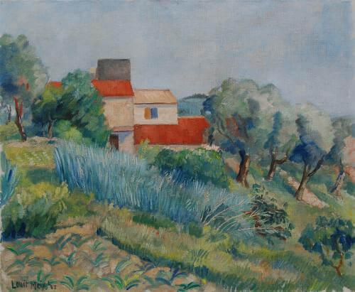 Frans landschap (Louis Meys, 1937)