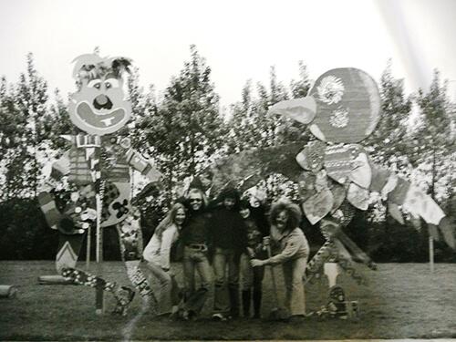 Gust Romijn en zijn groep, ca 1970