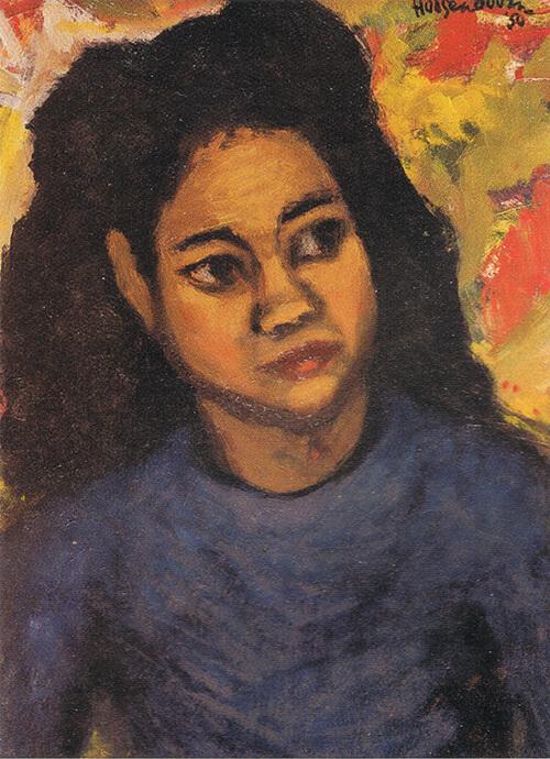 Vrouwenportret (Ton Hoogendoorn, 1950)