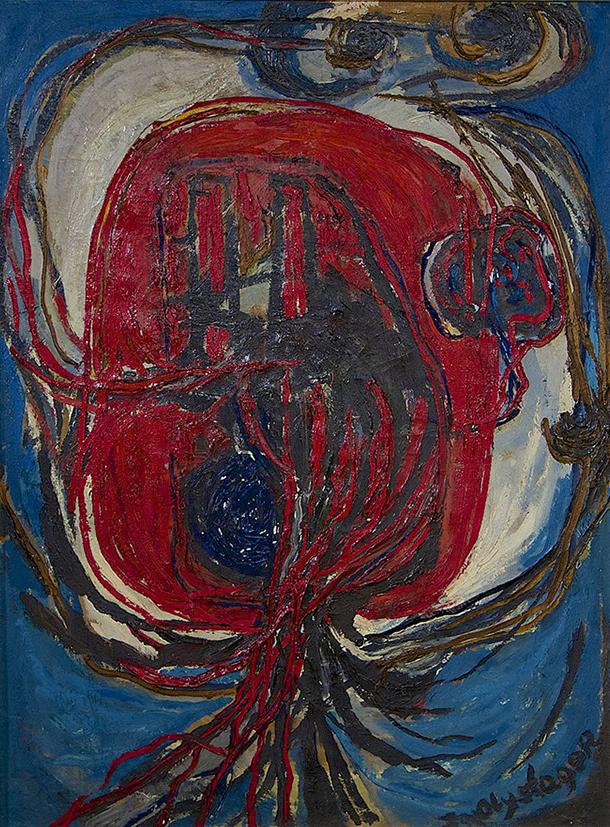 Compositie zwangerschap (Jan Olyslager, 1955)