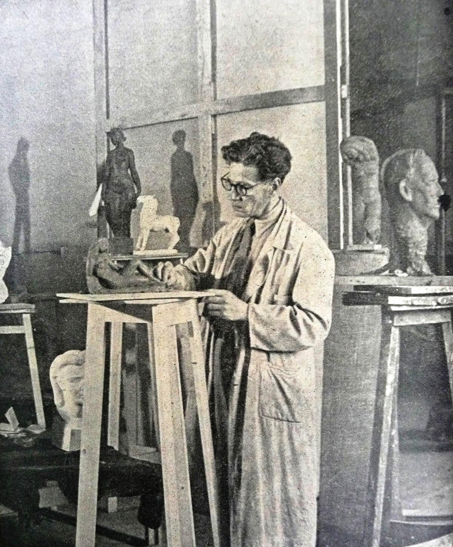 Leen Blom, 1948