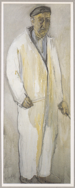Zelfportret (Paul Citroen, 1961)