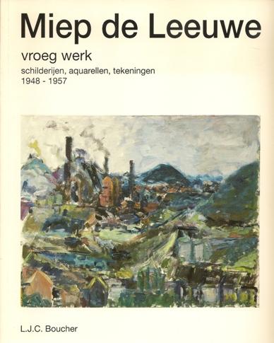 Titelblad boek Vroeg werk van Miep de Leeuwe