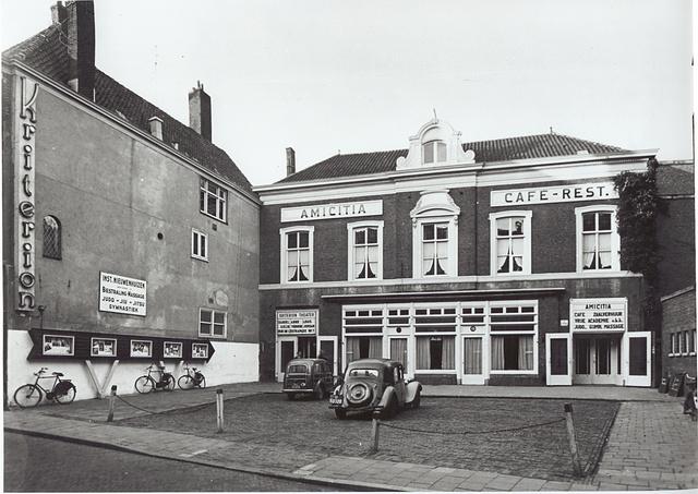 Amicitia, Westeinde 15, 1943