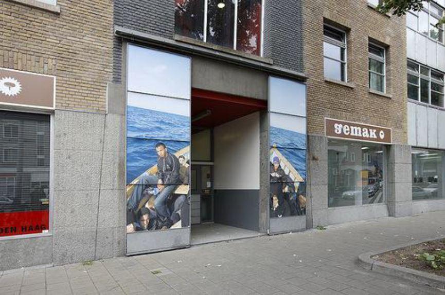 Entree Vrije Academie (Gemak), september 2009, foto Joël van Houdt