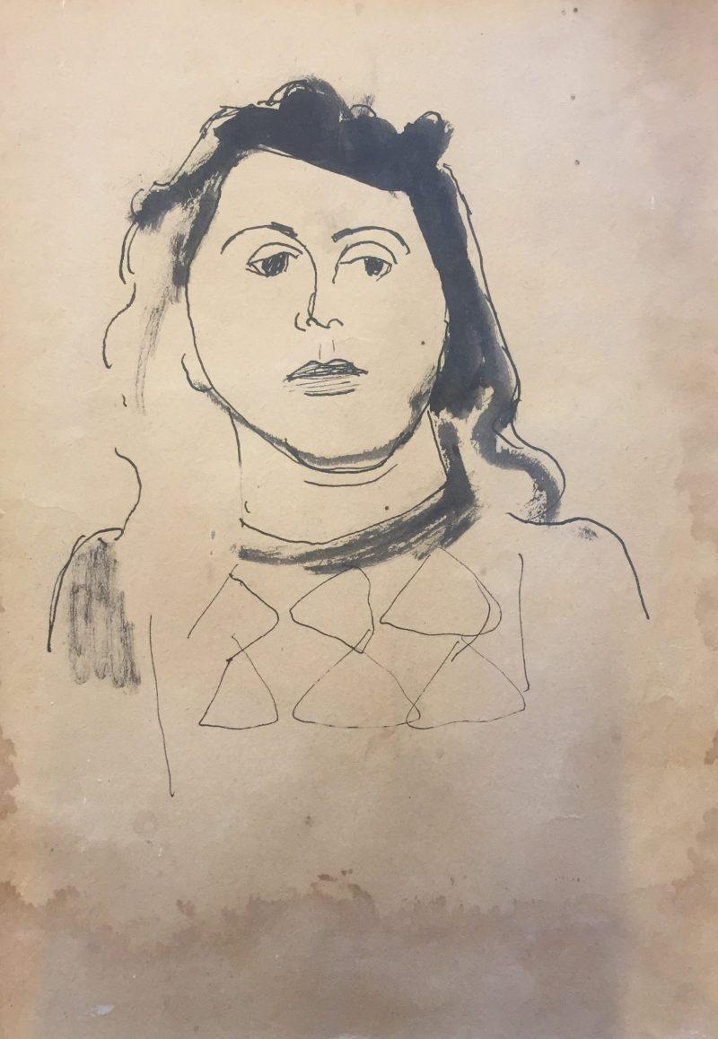 Miep de Leeuwe (Piet Nieuwenhuijsen, ca 1949)