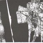 Gebroken steen (Aat Verhoog, 1960 - litho)