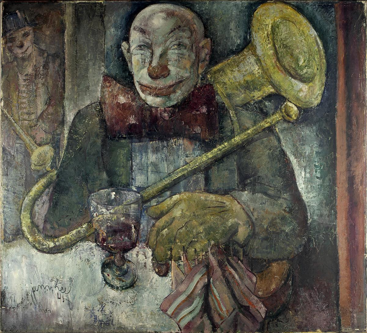 Clown (Jan van Heel, 1941 - foto Kunstmuseum)