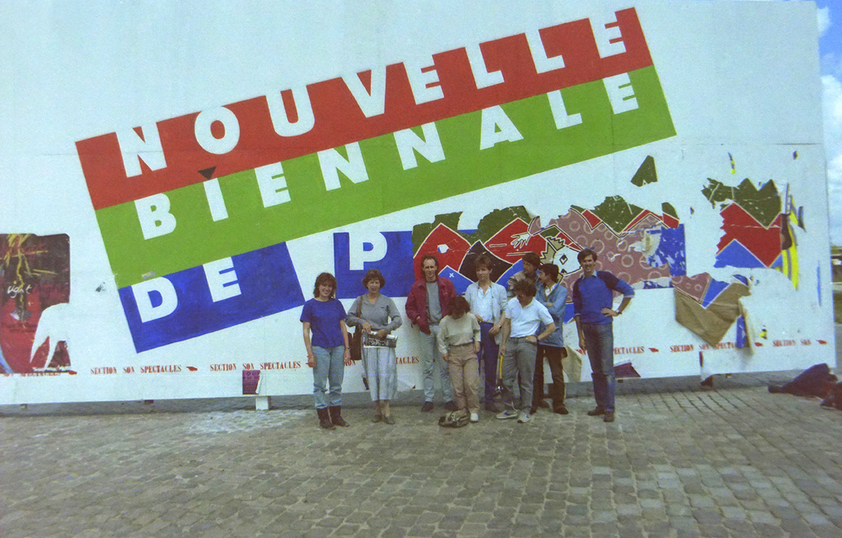 Reis naar Frankrijk met de Vrije Academie (mei 1985)