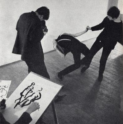 Modellen bewegen (uit prospectus van 1964)