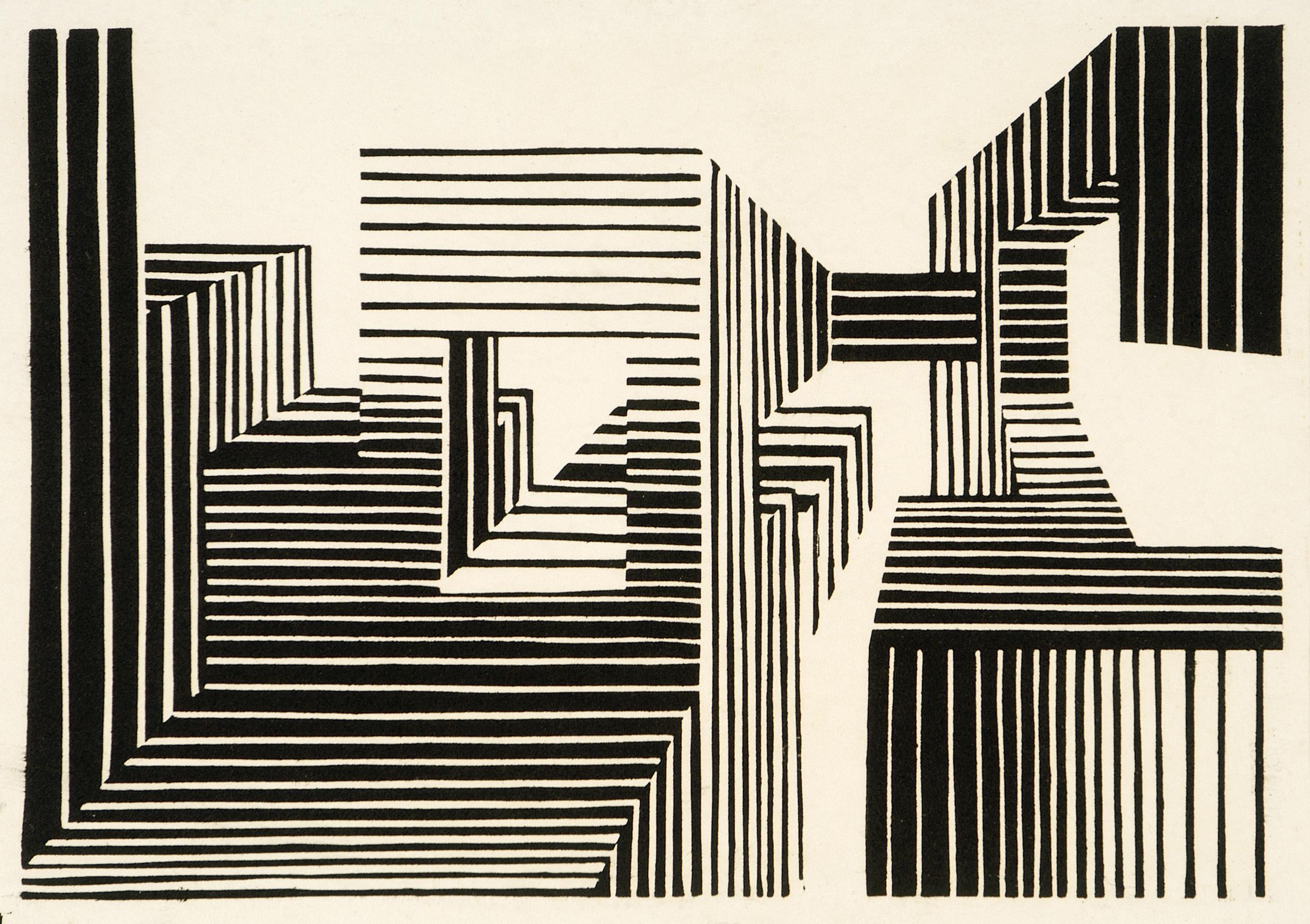 Optische constructie (Cees Post, 1966)