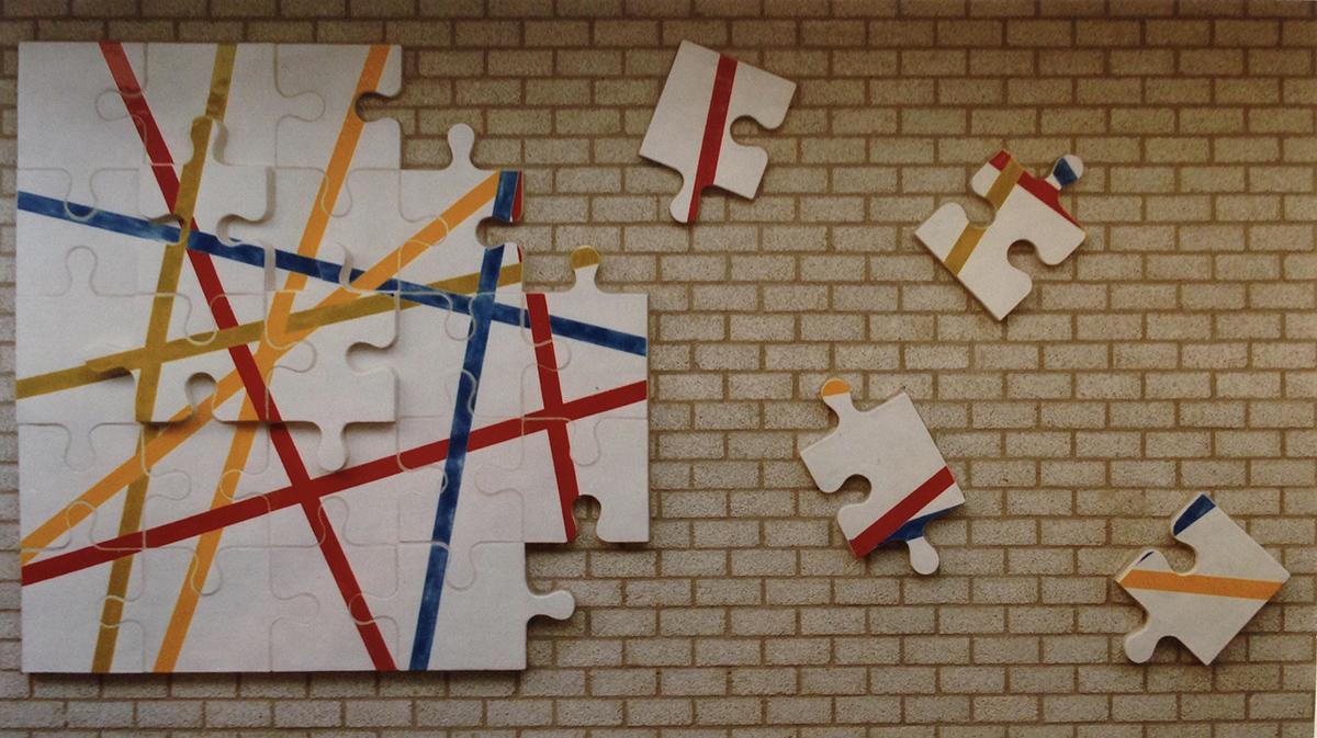 Reliëf in Jan Ligtharschool (Jozef van der Horst)