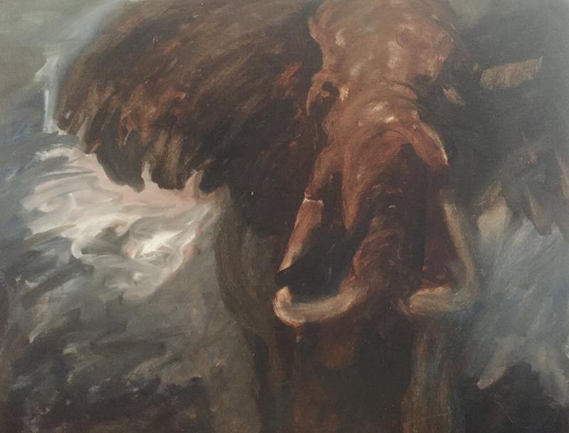 De rode olifant (Margemmy Geraedts, 1994)
