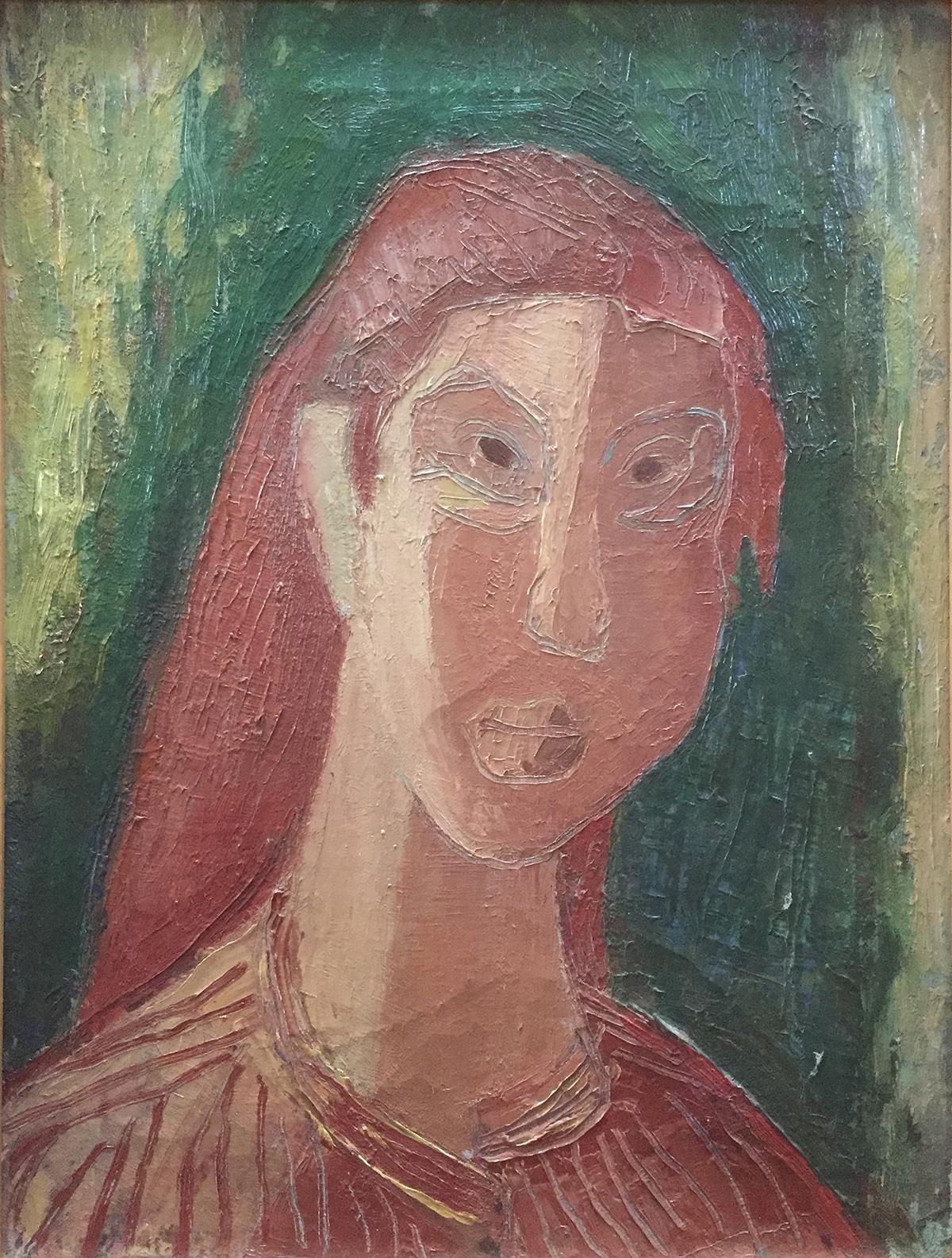 Portret van Eva Kann (Piet Nieuwenhuijsen, 1948)